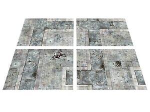 MODULAR-6-039-x4-039-Urban-Skirmish-game-board-gaming-mat-KILL-TEAM-40k-warhammer