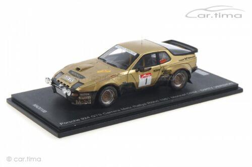 Porsche 924 Carrera GTS Metz Rallye 81 Röhrl//Geistdörfer Dirty Version Spark 1:4
