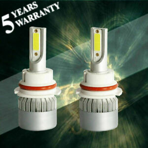 Details About 9007 Hb5 Cob 1600w 240000lm Led Headlight Kit Hi Lo Beam Bulb Replace Xenon Hid