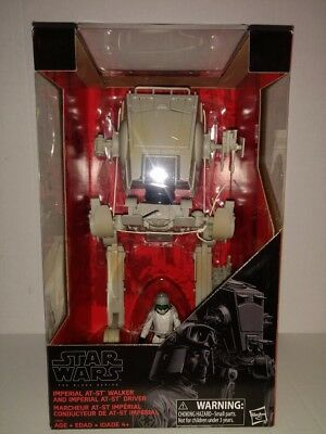 Hasbro Star Wars The Black Series Imperial At-St Walker And Driver