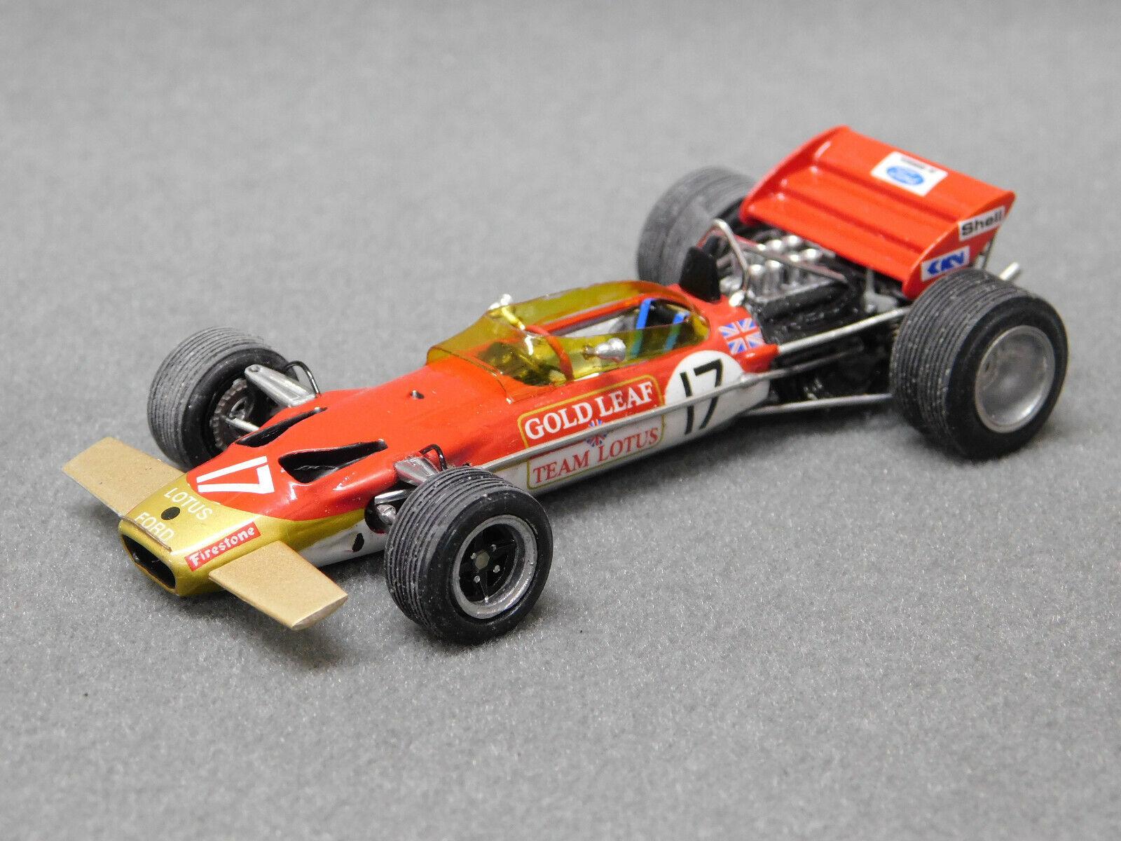 1 43 RL31E LOTUS 49C Fittipaldi German GP GP BY SMTS