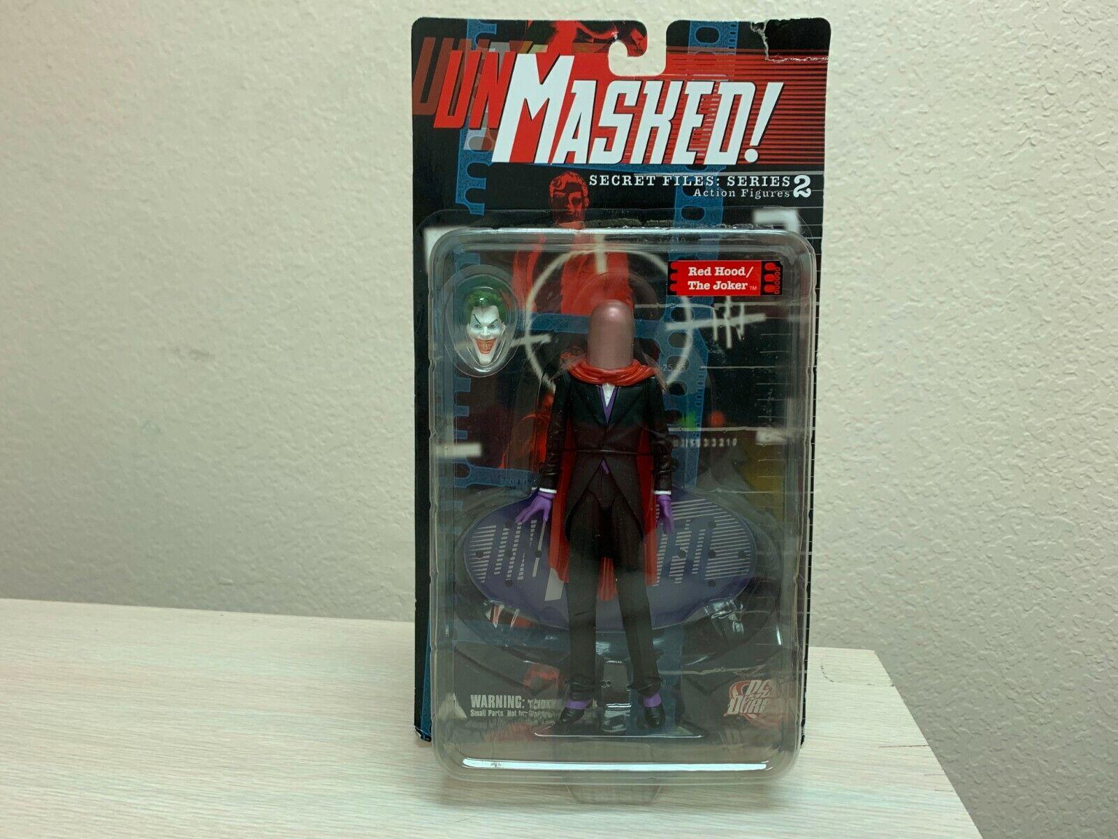 DC Direct Unmasked  Secret Files Series 2 rosso HOOD THE JOKER Sealed