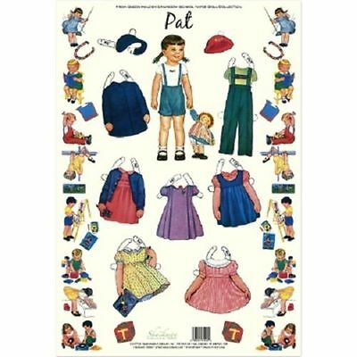 Shackman Ted Queen Holden/'S Nursery School Paper Doll /& Clothes Set #Shk-31