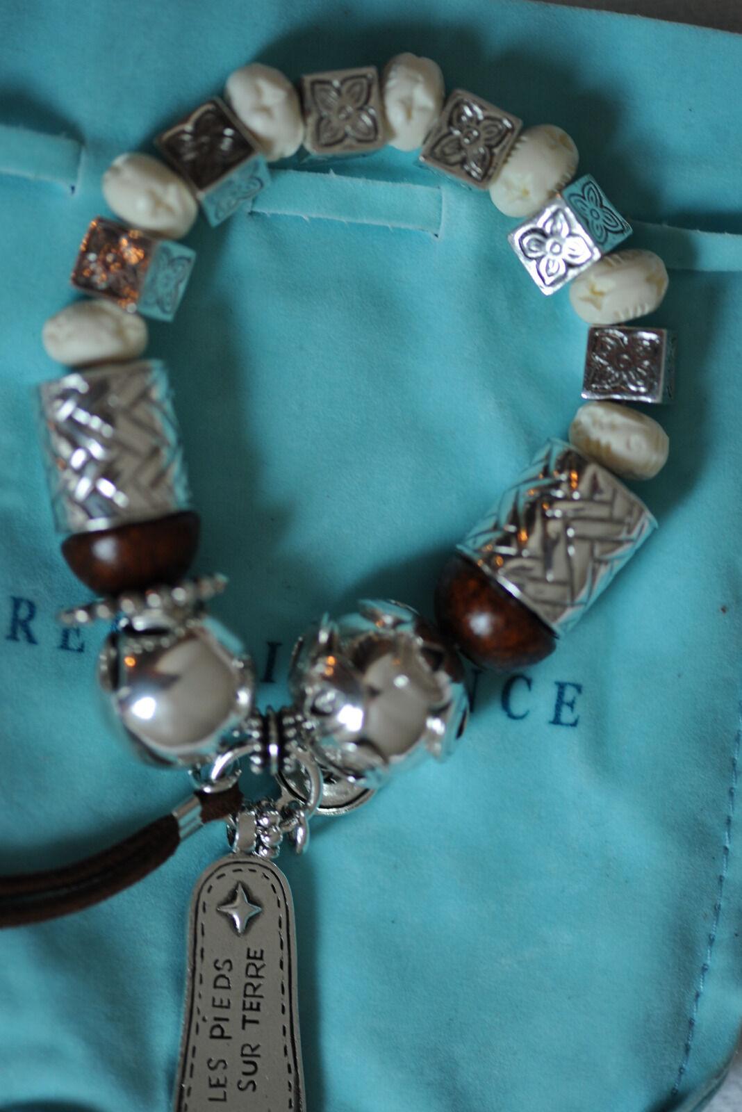 Bracelet Reminicence silver - perles et breloques