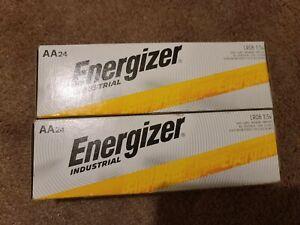 48 Energizer Industrial AA Alkaline Batteries exp 2029