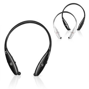 LG Tone Infinim HBS-900 Premium Wireless Stereo Bluetooth Headset Black/Silver