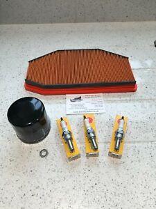 Triumph Speed Triple R 1050i Service Kit Oil Air Plugs READ DESCRIPTION 2012-15