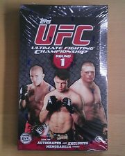 2009 Topps UFC Round 1 Sealed Hobby Box