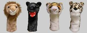 Set-of-4-Big-Cat-Animal-Golf-Head-Covers-1W-3W-5W-Hybrid-Gift-Accessories