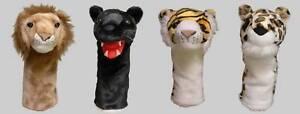 Set-of-4-Big-Cat-Headcovers-1W-3W-5W-7W-Hybrid