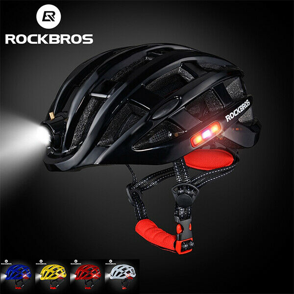Bicycle Helmet  Mountain Road Bike Cycling Safety Helmets Ultralight With Lights  fast delivery