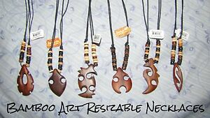 Bamboo Art Necklace