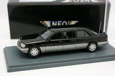 Neo 1/43 - Mercedes 250 E W124 Lang  Limousine Noire