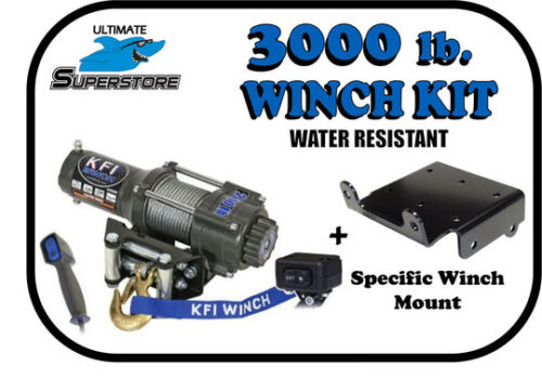 700-4 Mount Included! KFI 3000 lb Winch Mount Kit /'14-/'19 Honda Pioneer 700