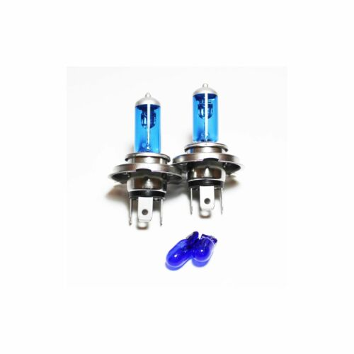 Ford Orion MK2 100w Super White Xenon HID High//Low//Side Headlight Bulbs Set