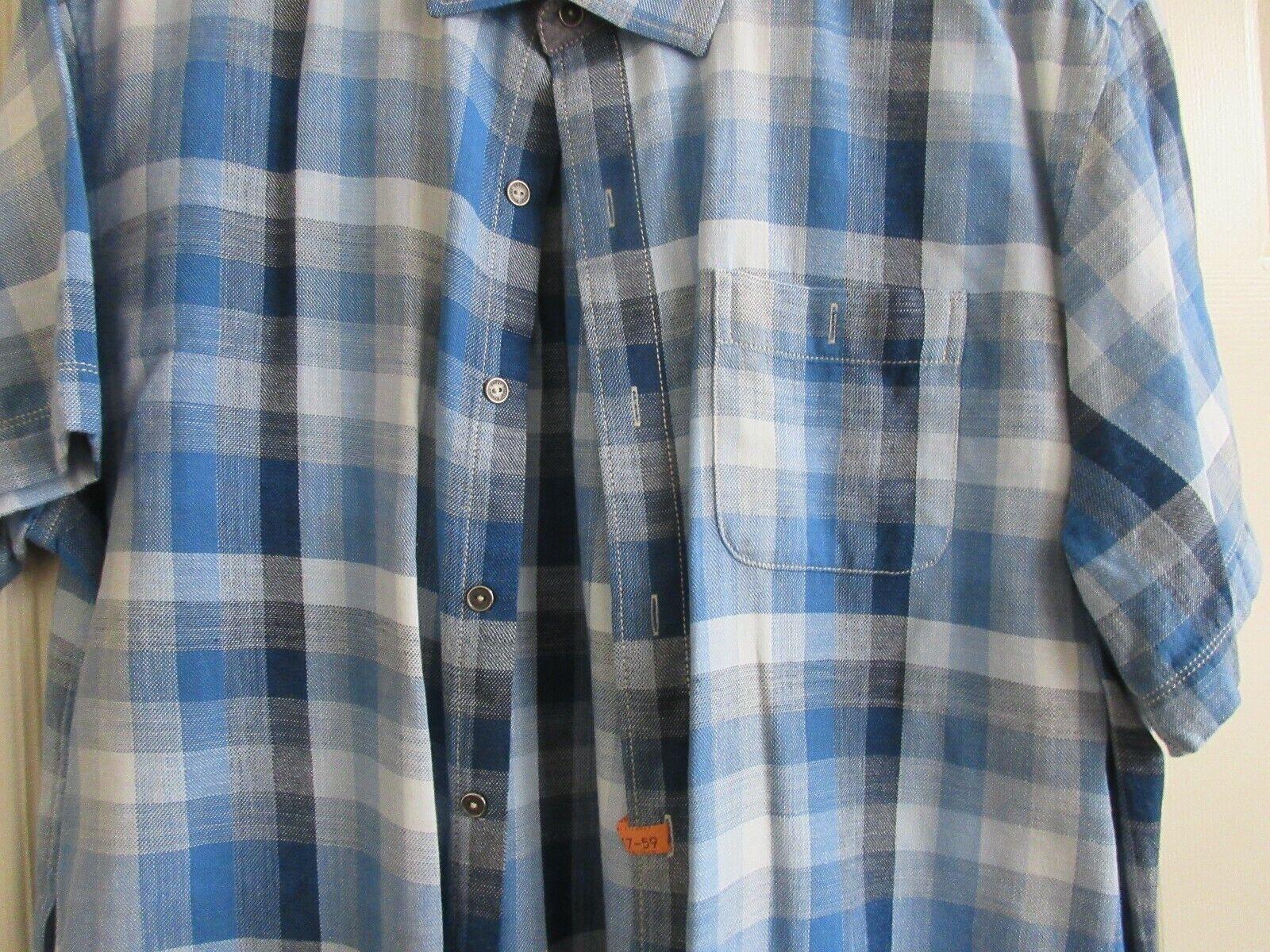 Tommy Bahama Jeans , XL/TG , 100% Cotton ,Short Sleeve