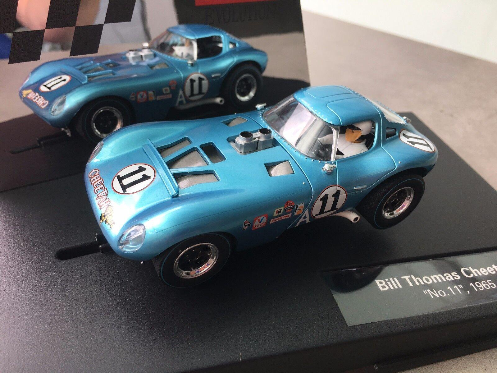 Carrera Evolution 27452 Bill Thomas Cheetah   No.11  ,1965 Nuovo Confezione