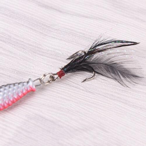Lot de 4pcs métal dur leurres Crank Bait petit méné leurre de pêche`IHS