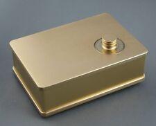Douk Audio Passive Preamp Chassis Pre-Amplifier Case DIY Aluminum Enclosure Gold