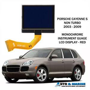 PORSCHE CAYENNE MONOCHROMATIC LCD VDO DISPLAY SCREEN 2003 - 2009 UK SELLER.. NEW