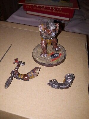 Coscienzioso Metal Mordor Troll - Oop - Lotr / Warhammer / Lord Of The Rings