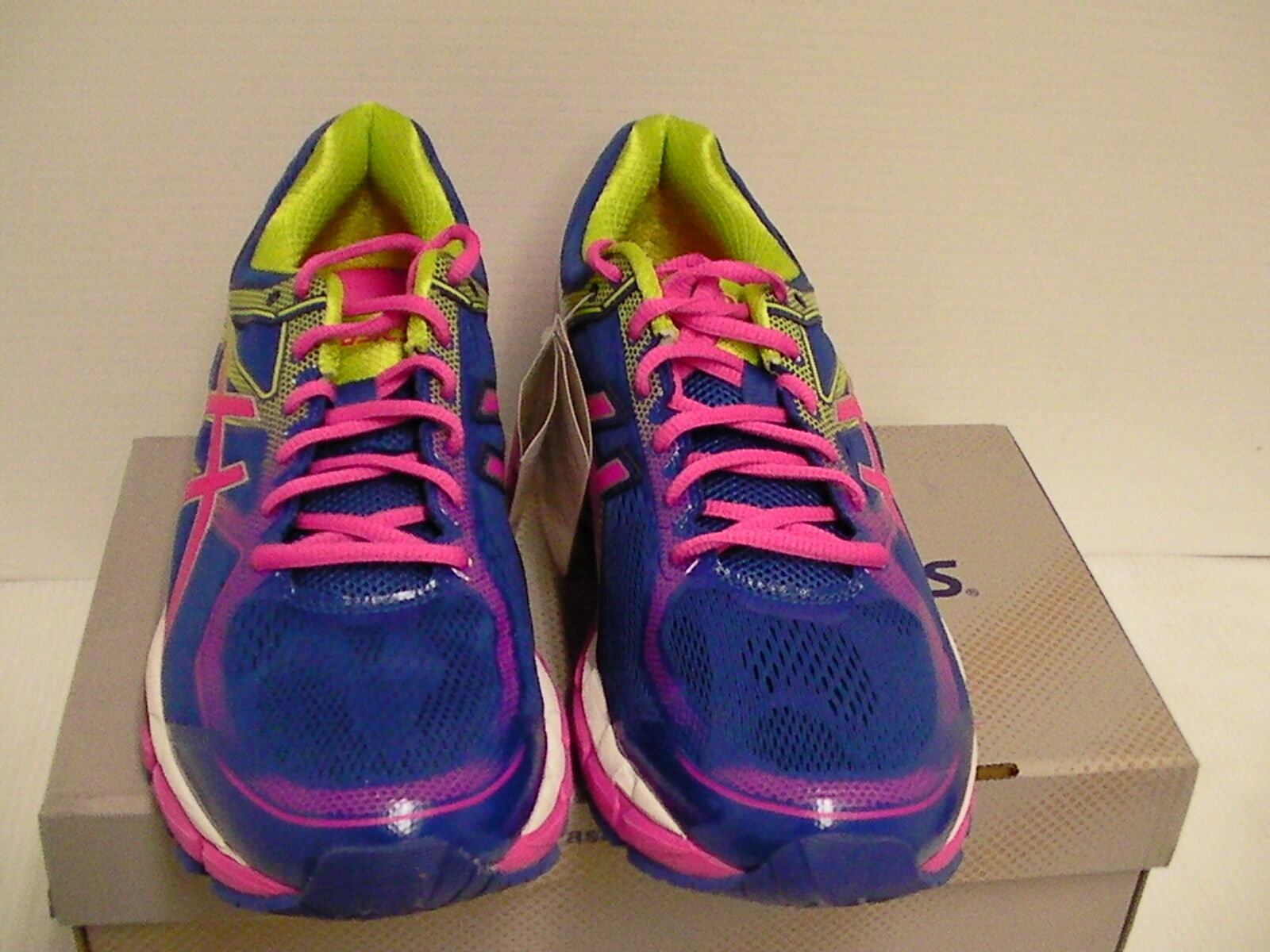 Asics Asics Asics women's running shoes gel surveyor 5 bluee pink lime size 9 887582