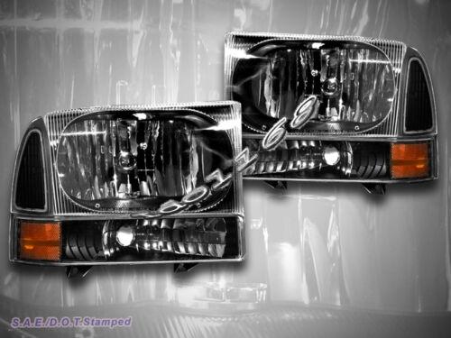 1999-2004 F250 F350 EXCURSION HEADLIGHTS CORNER LIGHTS 2003