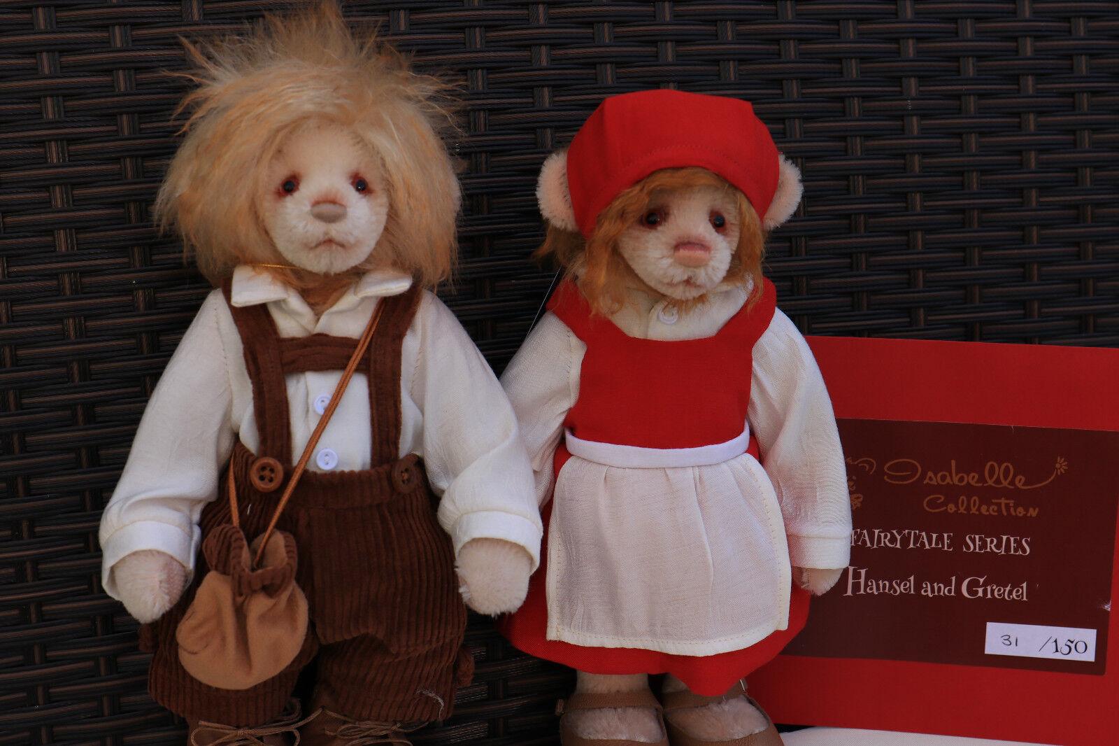 Charlie Bears-HANSEL & GRETEL Di Isabelle Lee L/E-NUOVA CON ETICHETTA