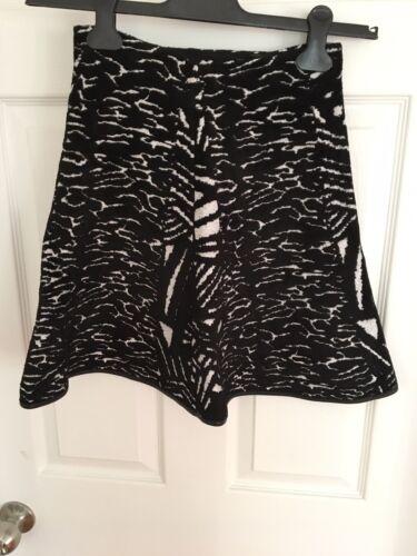 And White Issa Mini Black Skirt Xs WzWIHqZ