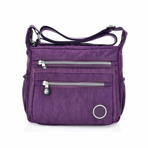 Women Ladies Messenger Canvas Handbag Shoulder Purse Satchel Crossbody Tote Bag