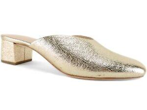 Loeffler Randall Women's Lulu Mules Champagne Leather Size