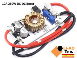 Convertidor-DC-DC-Boost-Movil-de-corriente-constante-fuente-de-alimentacion-10A-250W-LED-Driver