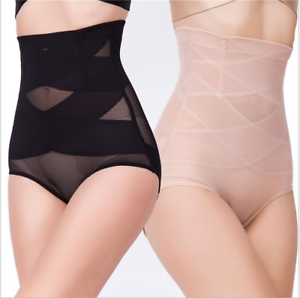 High Waisted Shapewear Knickers Invisible Body Shaper Tummy Control Slimming