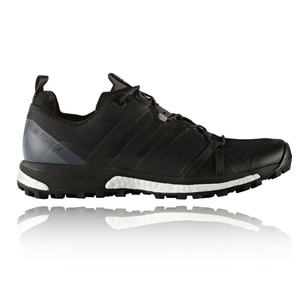 Adidas Terrex Agravic Mens Black Sneakers Running Sports shoes Trainers