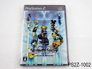 Kingdom-Hearts-II-Final-Mix-Limited-Ed-Ver-Playstation-2-Japanese-Import-PS2