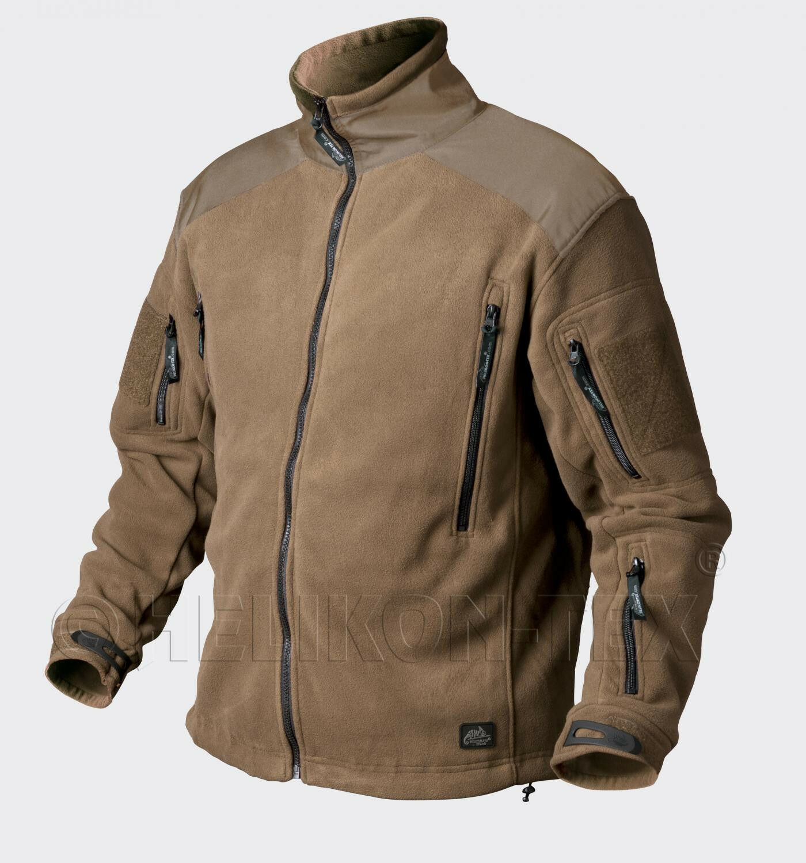 HELIKON tex Liberty heavy Fleece Jacket outdoor chaqueta coyote L large