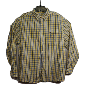 26f8a0209 Vintage Nautica Men s Size L Shirt Multi Color Striped Button Up ...