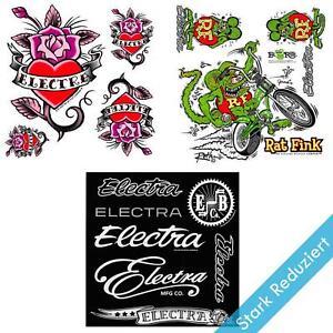 Details Zu Electra Fahrrad Rahmen Sticker Dekor Aufkleber Set Cruiser Bike Design Style