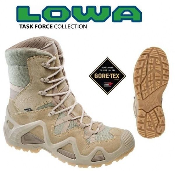 Lowa Zephyr Hi Gtx Gore tex Tan all Dimensiones 41-46