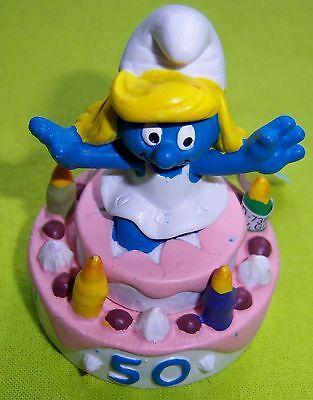 20706 Schtroumpf queue de pie Smurf  puffo puffi schtroumpfette T Rare special