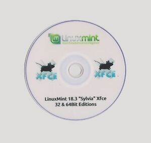Details about LINUX MINT 19 Xfce LIVE 64Bit Discount & Multi Distro Discs  £1 20 1st Class Post