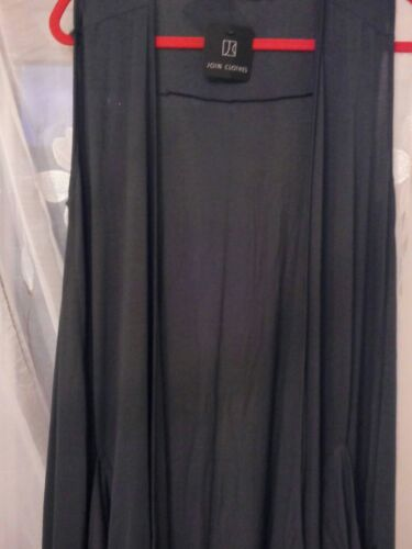 Pencil Sleeveless With Duster Clothes Pockets Grey S Join wxEAfIqCn