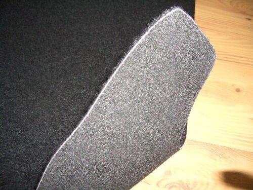 Kofferraummatte Teppich Fußmatten Renault Trafic L2 Grand Combi 8//2014 lang