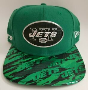 new arrival 1722e de0bd Image is loading New-York-Jets-New-Era-Green-Color-Rush-