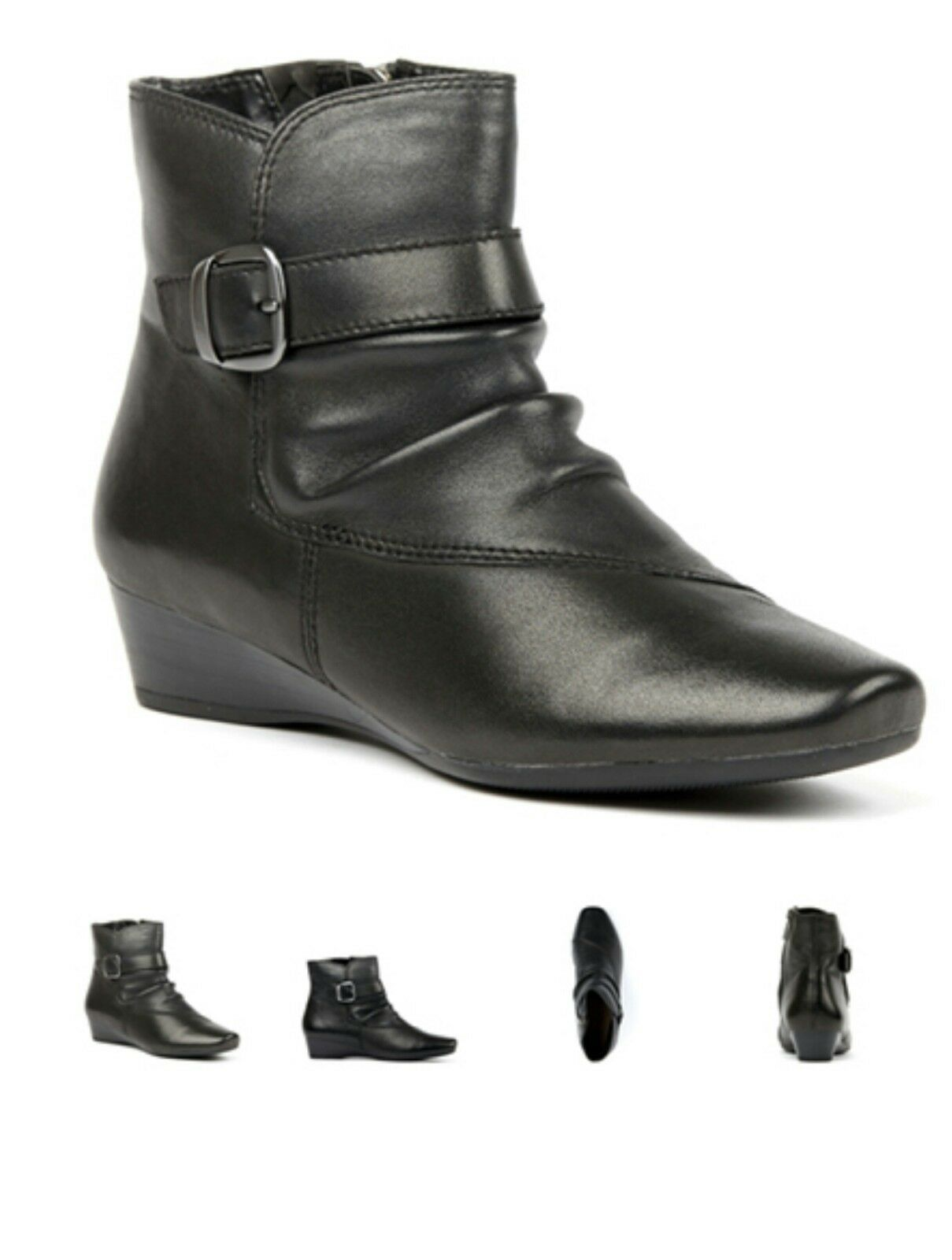 BRAND NEW WOMENS  SUPERSOFT BY DIANA FERRARI COMFORT ANKLE BOOTS SZ 9.5  ruyben