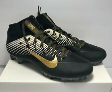 $200 Nike Mens Size 12.5 Untouchable 2 Black Gold Super Bowl Football  Cleats New