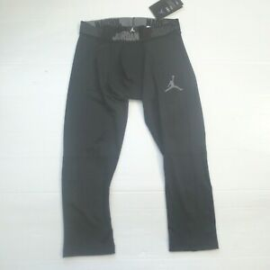 Nike-Men-Jordan-23-Alpha-Tights-892246-Black-010-Size-M-NWT