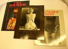 Uwe Ommer Man Ray Jeanloup Sieff Erotic Photography Book Lot Fine Art Nudes
