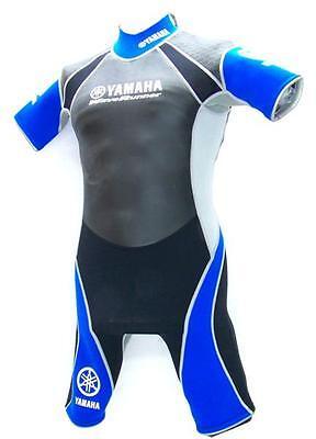 Yamaha Shorty Powerflex Blue Unisex-neopren Wasserski Schwimm Wakeboard Anzug Um Das KöRpergewicht Zu Reduzieren Und Das Leben Zu VerläNgern Neoprenanzüge
