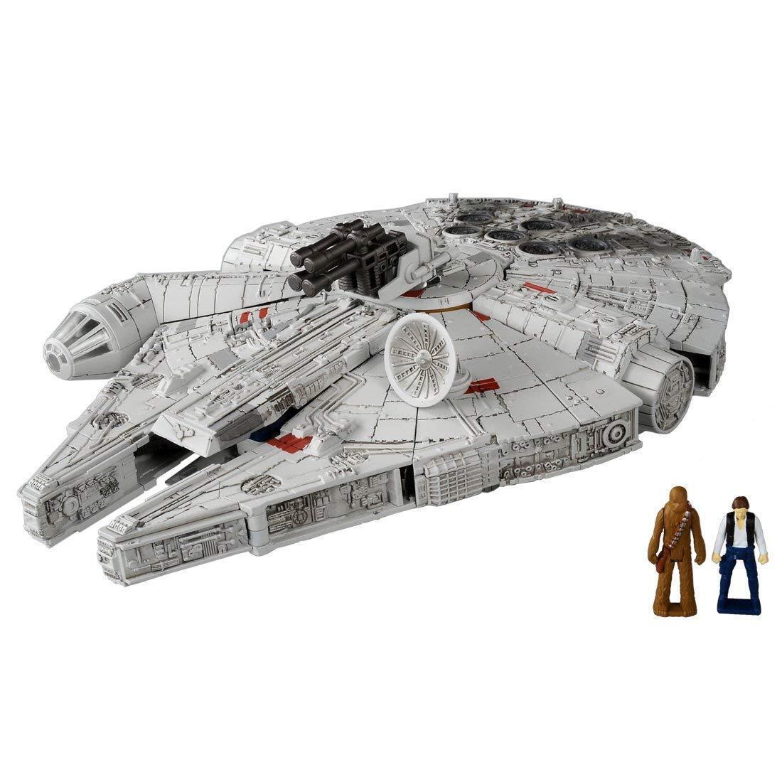 MISB in USA - Takara Star Wars Transformers 02 Millennium Falcon Han Chewbacca